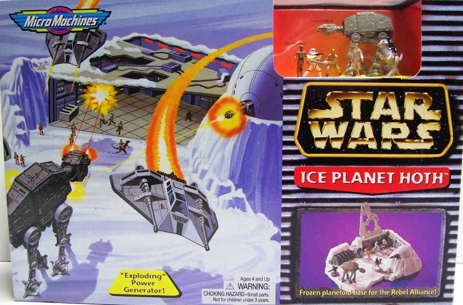 Scale Mini Playset Ice Planet Hoth