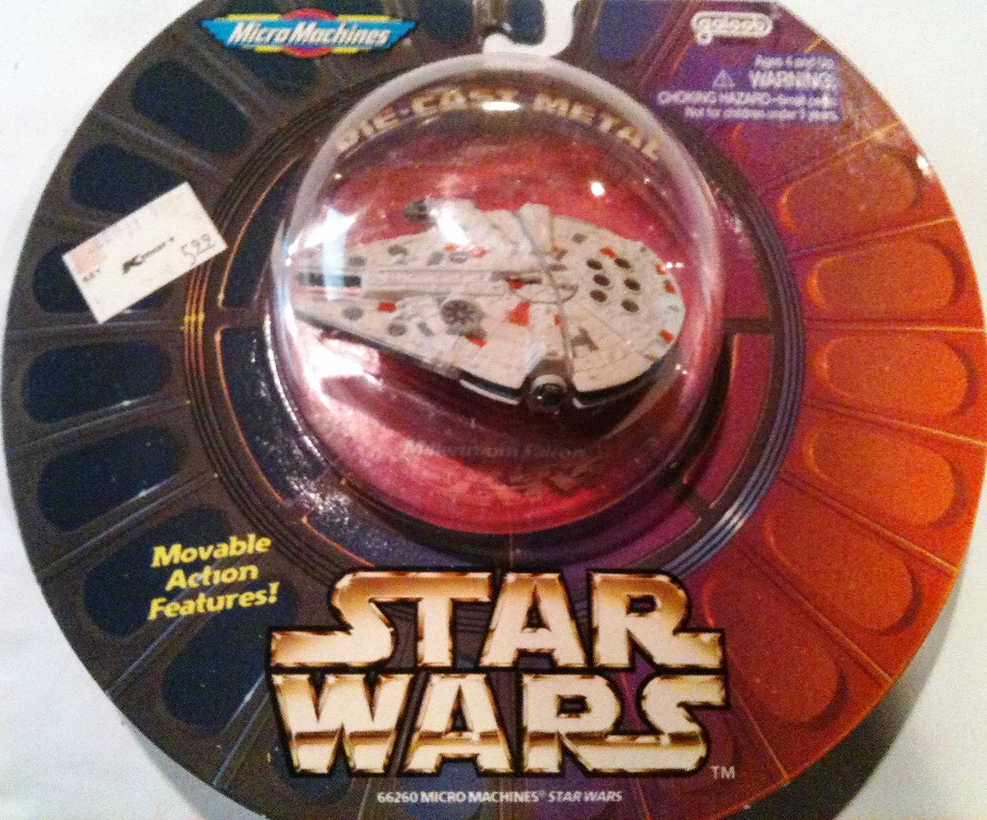 Scale Mini Vehicle 1 Pack Millennium Falcon