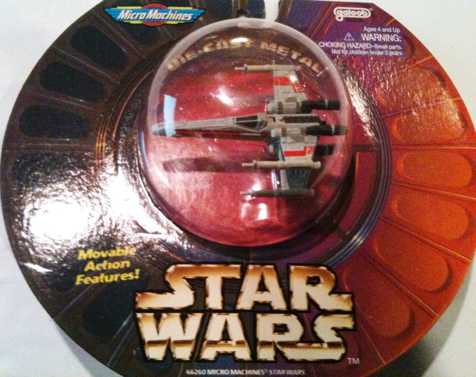 Scale Mini Vehicle 1 Pack X-Wing Fighter