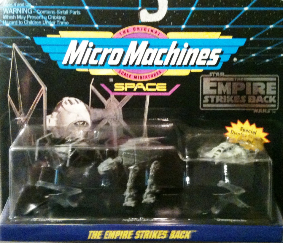 Scale Mini Vehicle 3 Pack The Empire Strikes Back