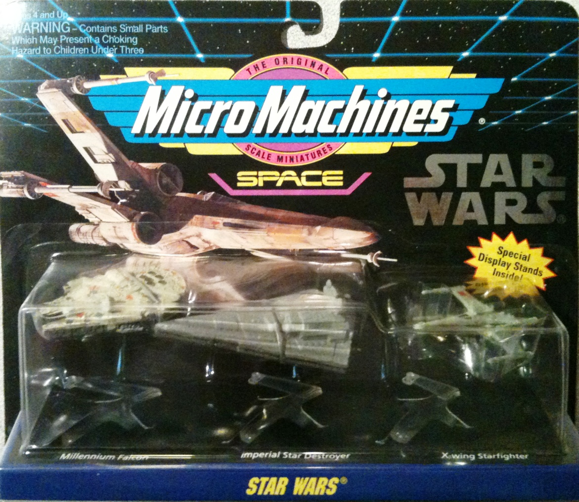 Scale Mini Vehicle 3 Pack Star Wars