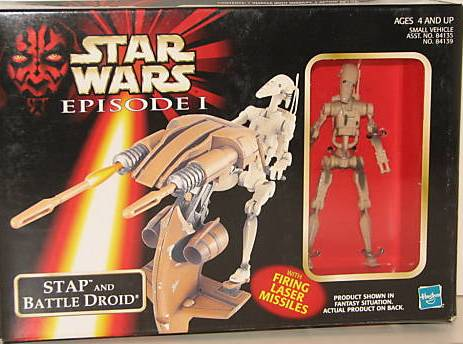 Stap and Battle Droid