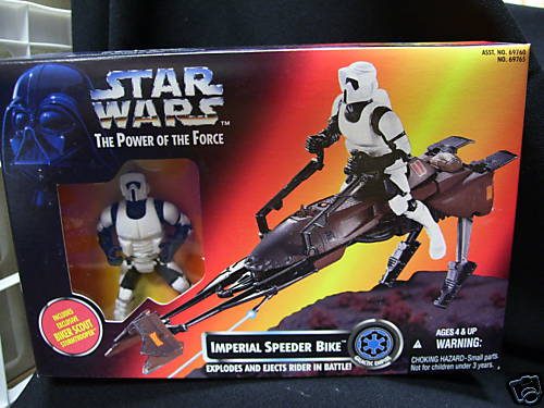 Imperial Speeder Bike - Click Image to Close