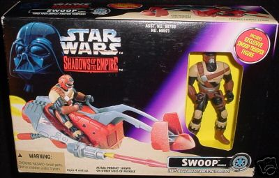 Swoop with Swoop Trooper - Click Image to Close