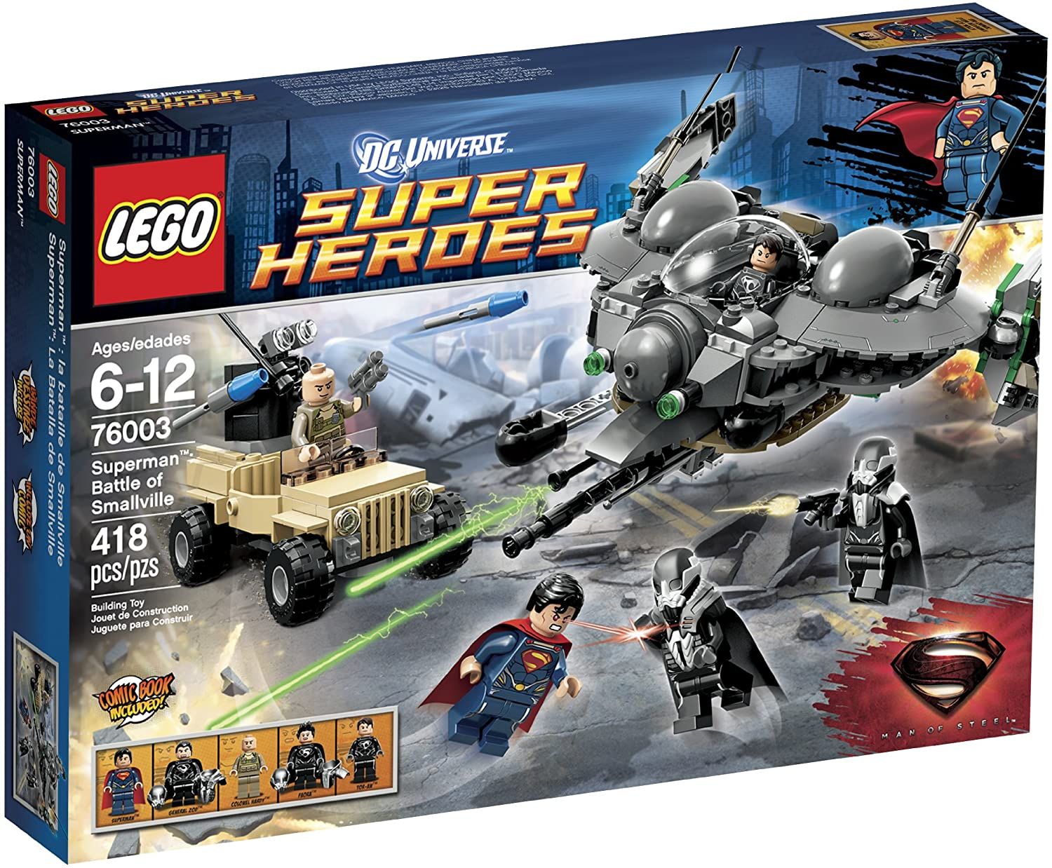 Super Heroes Superman Battle of Smallville (76003)