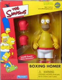 Toyfare Exclusive Boxing Homer