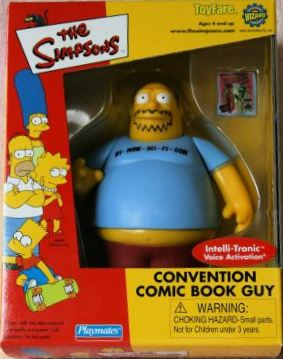 Toyfare Exclusive Comic Book Guy