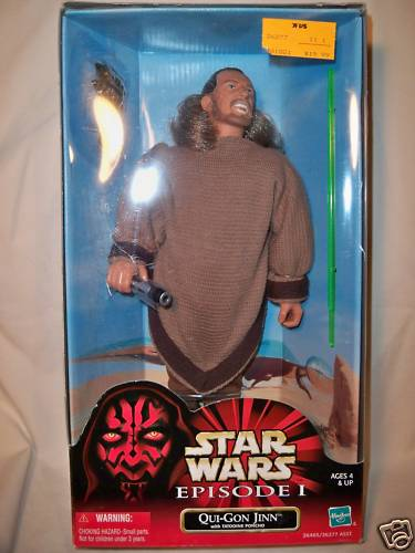 Qui-Gon Jinn with Tatooine Poncho