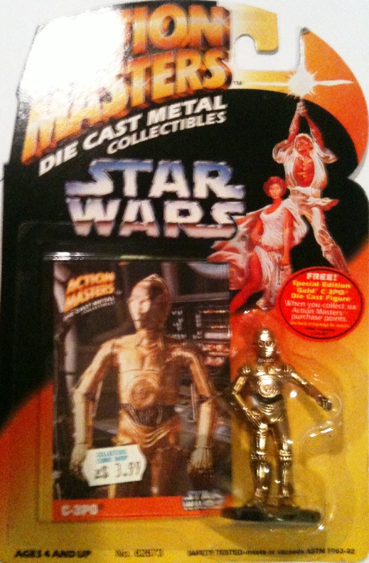 Die-Cast Metal C-3PO