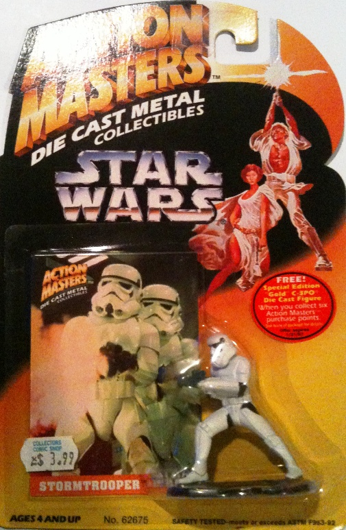 Die-Cast Metal Stormtrooper